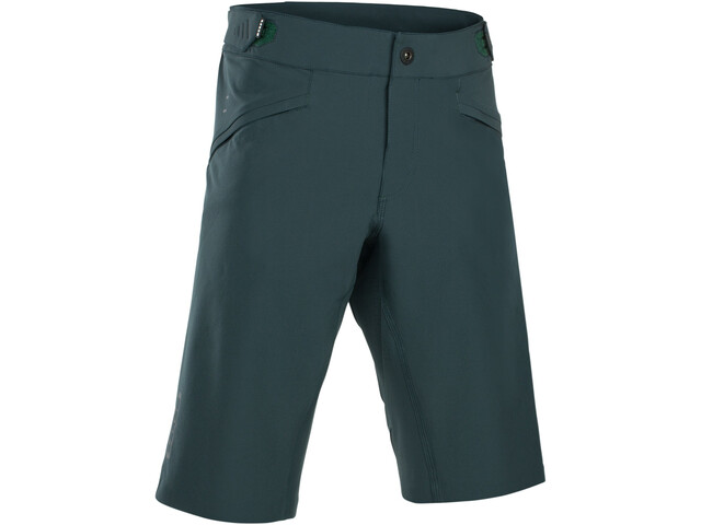 ION Scrub AMP Bike Shorts Herre green seek